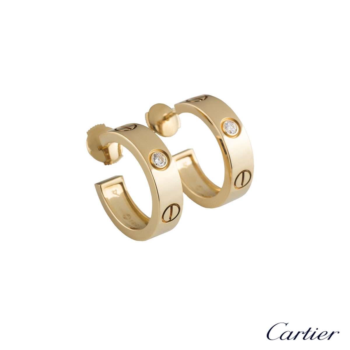 2b476a722a11d Cartier Love Earrings